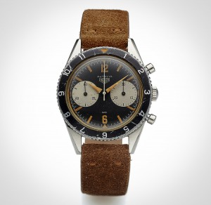 Vintage Heuer Autavia at auction
