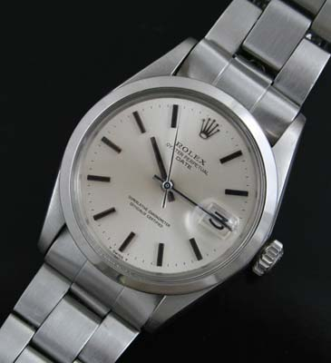 Vintage Rolex Oyster Perpetual Date Circa 1970 Used And