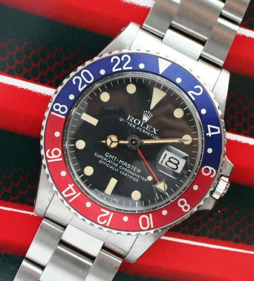 Vinatge Rolex GMT 1675