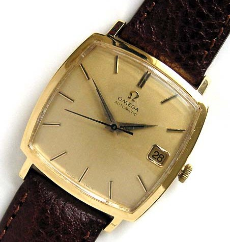 gold vintage Omega watch