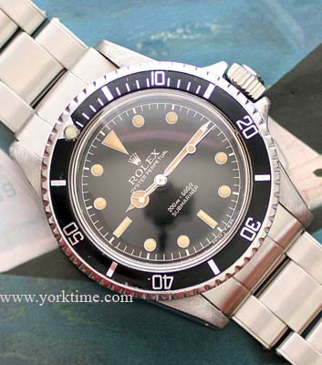 Vintage Rolex Submariner gilt dial