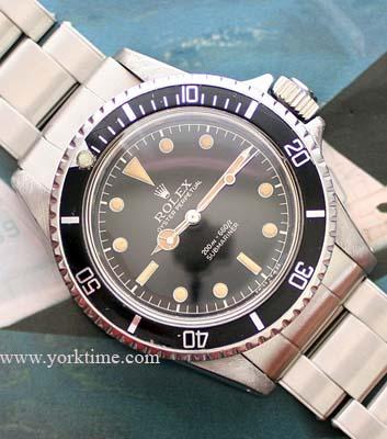 Vintage Rolex Submariner gilt dial