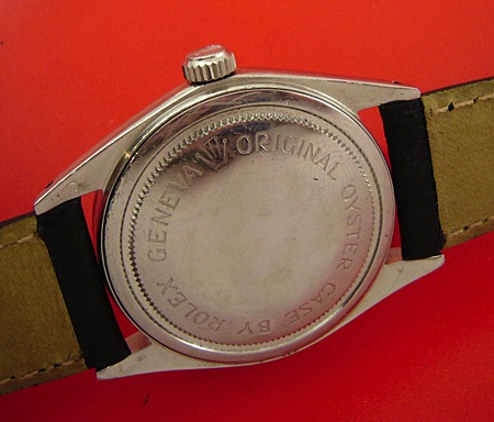 Tudor Oyster case by Rolex