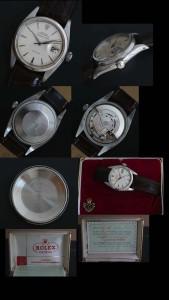 Vintage Rolex Explorer Date