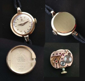 Omega ladies cocktail watch movement