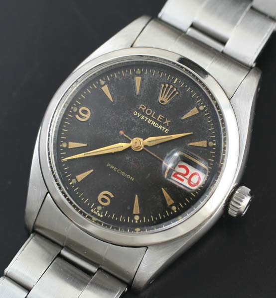 Vintage Rolex Oysterdate roulette