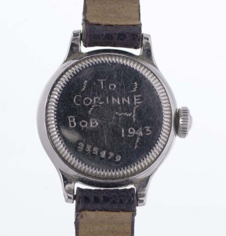 Rolex Oyster Dudley back