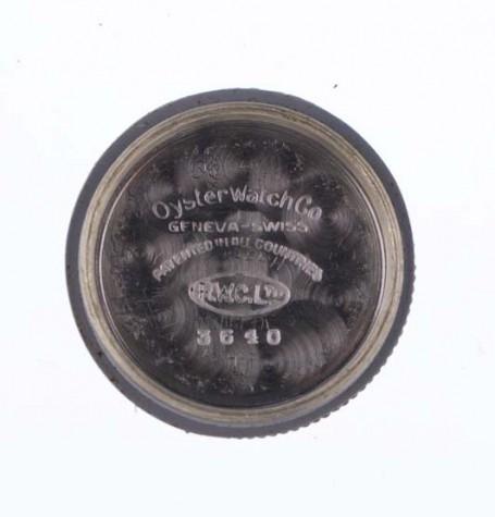 Rolex Oyster Dudley inside case