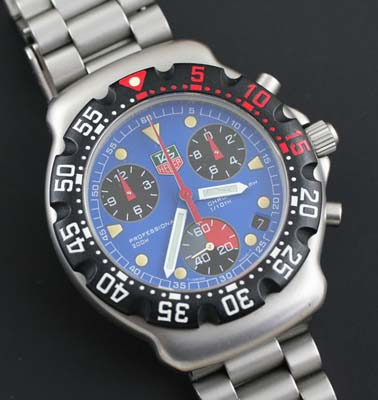 Second Hand Tag Watches >> Tag Heuer Formula 1 Chronograph with hours register - Used and Vintage Watches for Sale