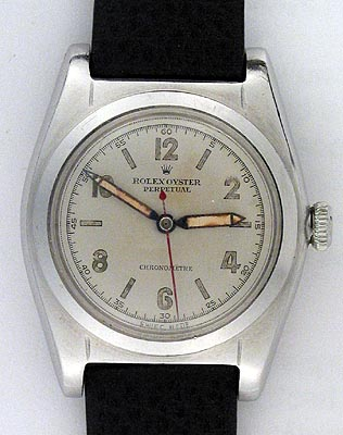 Original Rolex Bubbleback vintage watch