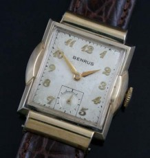 1940's Benrus gold-filled watch