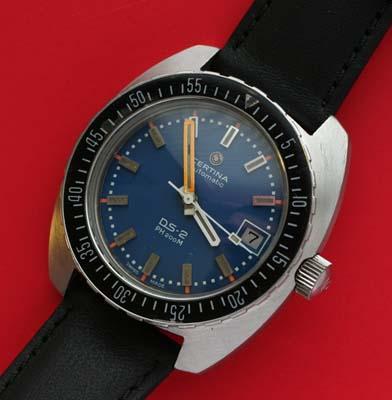 Certina DS-2 PH200M vintage divers watch