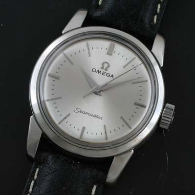 omega seamaster manual wind watch circa 1955 used and vintage rh yorktime com omega de ville manual wind omega manual wind speedmaster