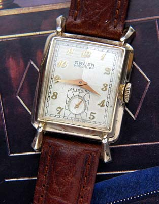 gruen vintage automatic watch used and vintage watches for sale. Black Bedroom Furniture Sets. Home Design Ideas