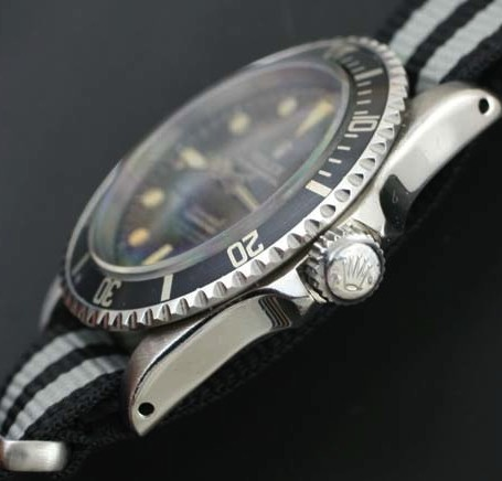 Rolex 5512 pointed crown guard