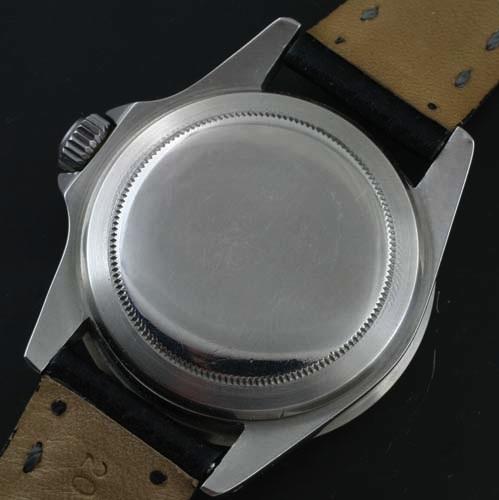 Rolex 5512 case back
