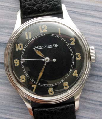 Jaeger Lecoultre Vintage Steel Watch
