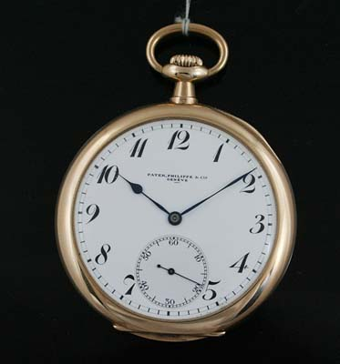 6d9db0860e2 Vintage Patek Philippe pocket watch with box and papers circa 1918 - Used  and Vintage Watches for Sale