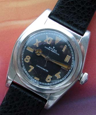 Rolex Bubbleback California dial