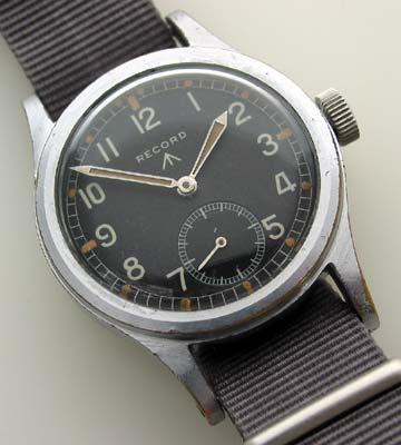 Record British military watch