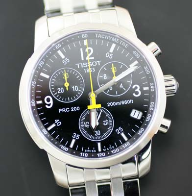 unused and like new tissot 1853 chronograph watch rrp sold a corporate ...