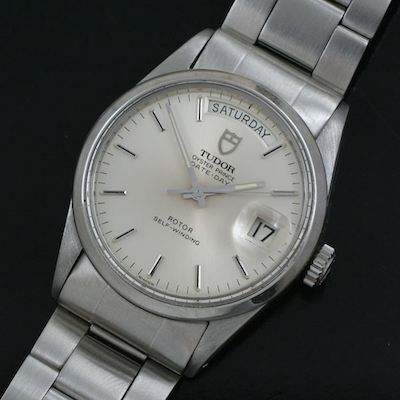 Tudor Date Day Oyster Prince Vintage Model From The 1970 S
