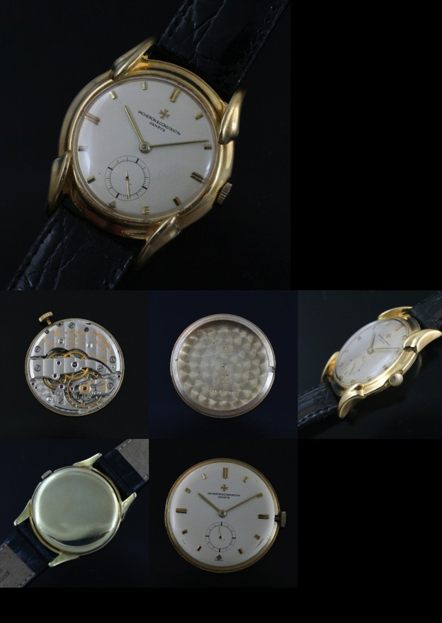 Vintage Vacheron Constantin movement and case