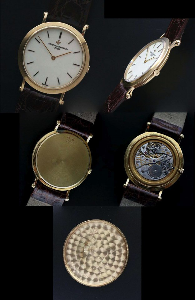 Ultra thin Vacheron case and movement