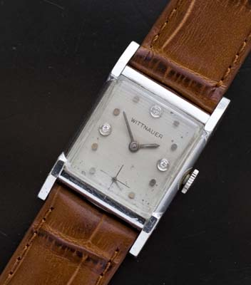 Vintage Wittnauer White Gold Filled
