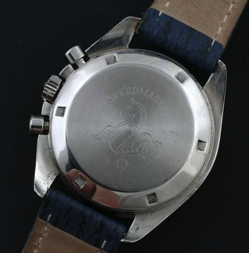 Omega moon watch case back