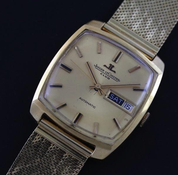 Jaeger LeCoultre gold vinagae watch