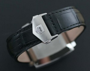 TAG Heuer crocodile strap and buckle