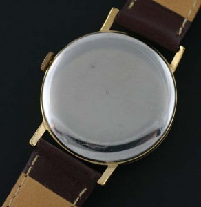 Longines steel case back