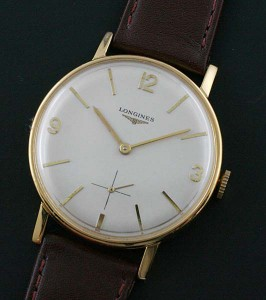 Large vintage Longines watch with 30L movement