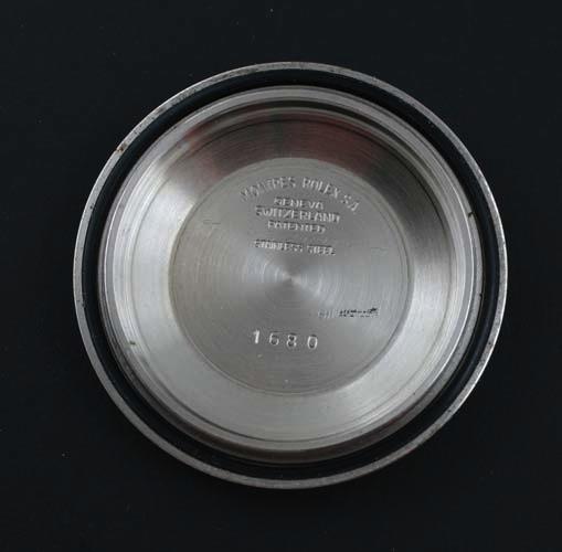Rolex Sub 1680 inner case