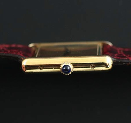 Cartier Tank crown