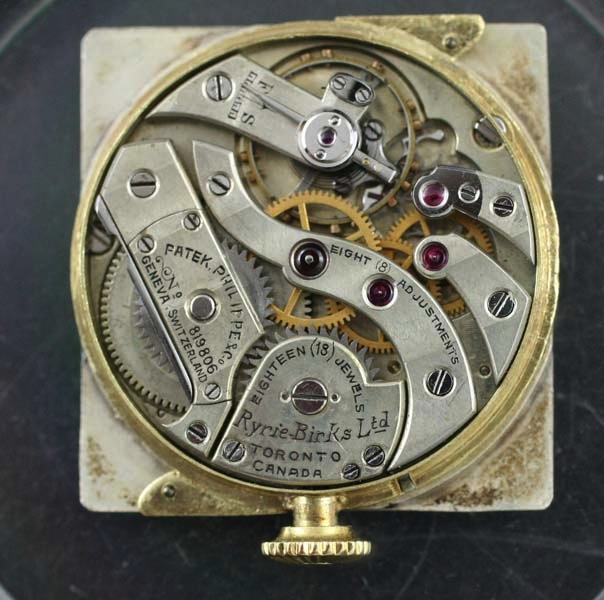 Antique Patek movement 8 positions