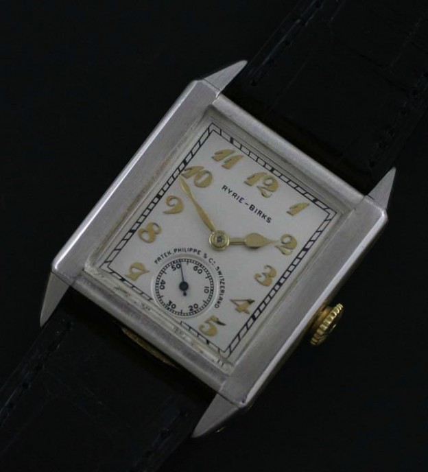 1925 Patek Philippe Ryrie Birks watch