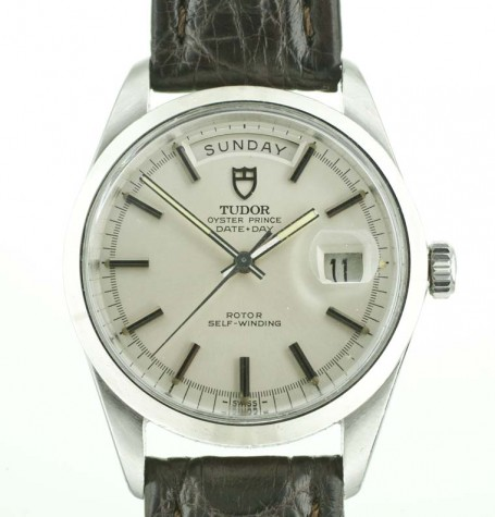 Tudor steel Day Date Jumbo