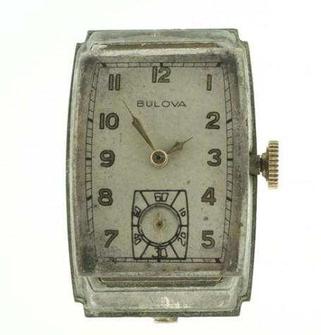 Bulova vintage watch dial