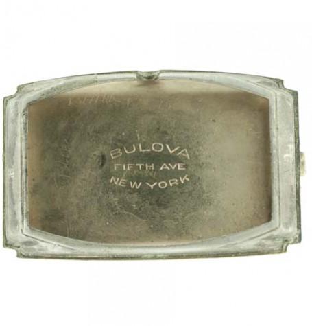Bulova vintage case signature