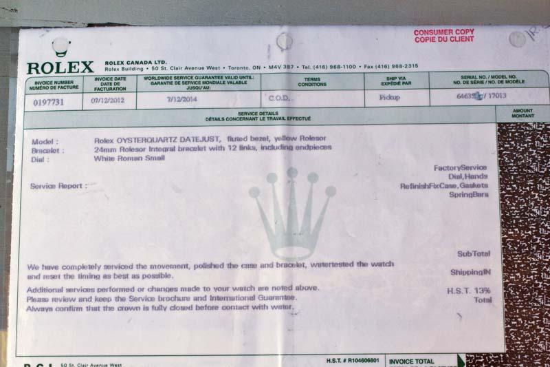 Rolex Oysterquartz ref 17013