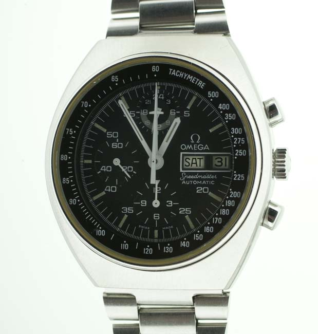 vintage Omega Speedmaster dial