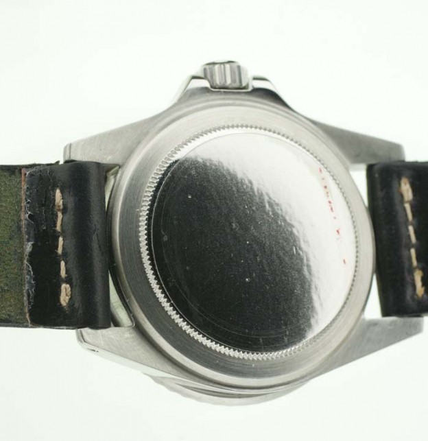 Rolex Oyster case back