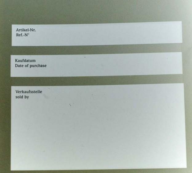 MeisterSinger blank papers