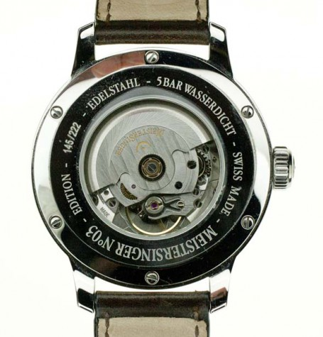 MeisterSinger automatic movement