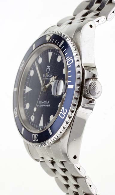 Tudor blue Sub crown