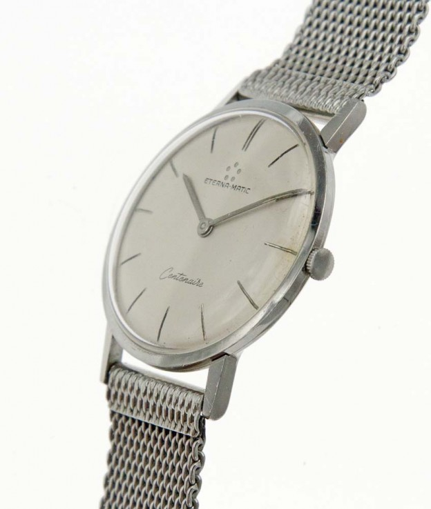 Eternamatic thin dress watch