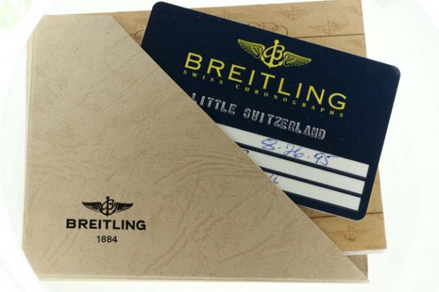 Breitling Montbrillant Zodiac papers
