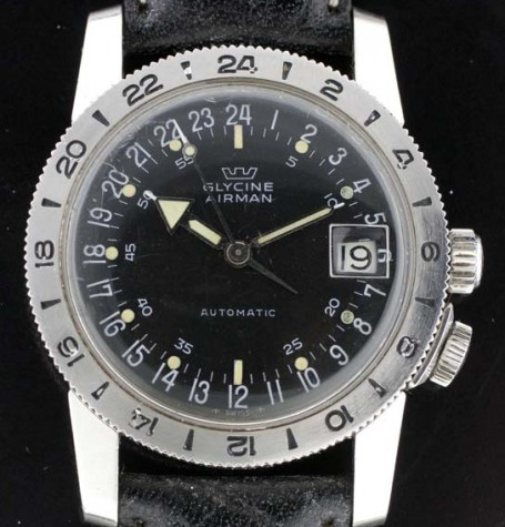 Glycine Airman vintage watch